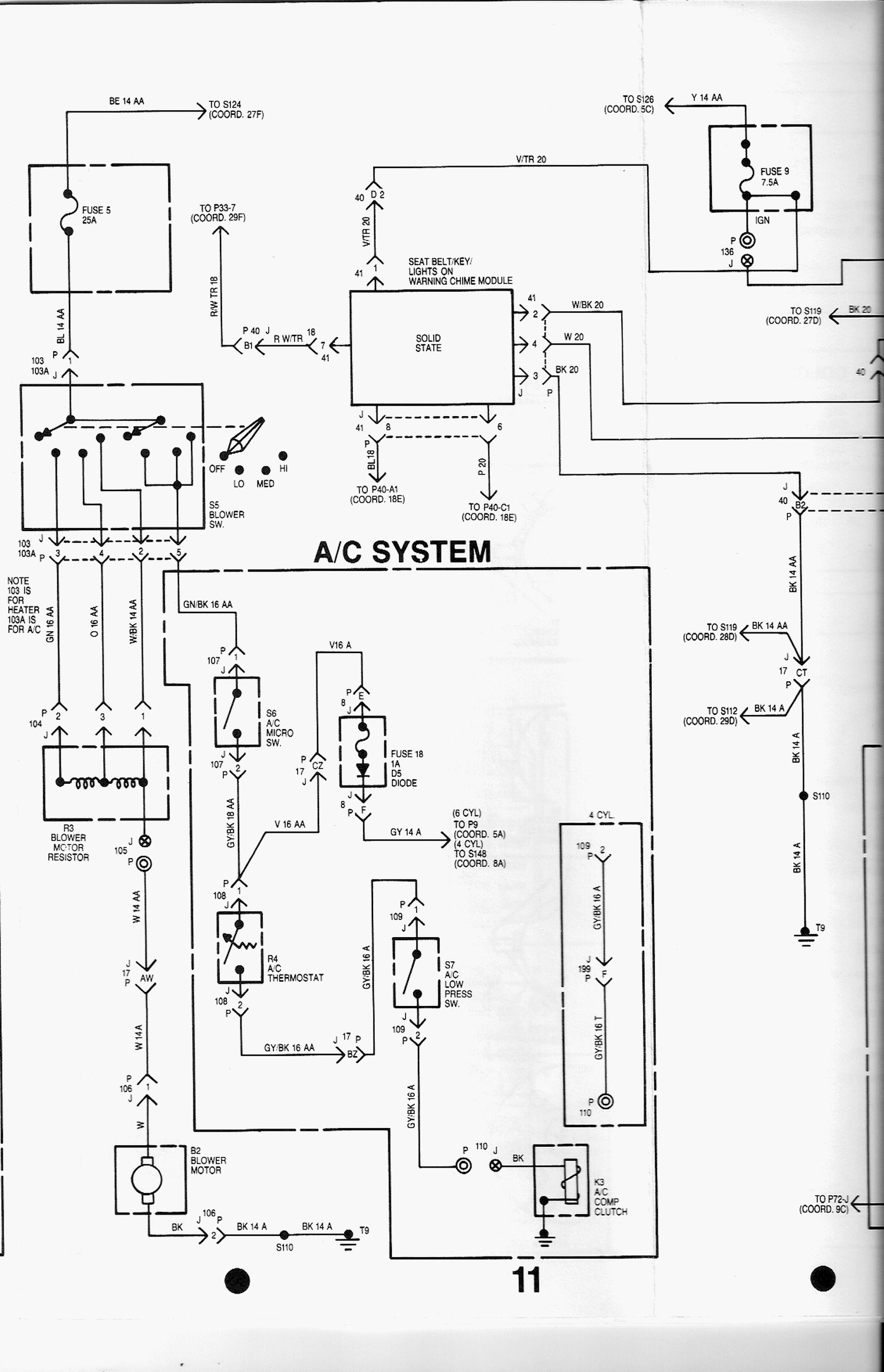 1985 amc eagle vacuum diagram