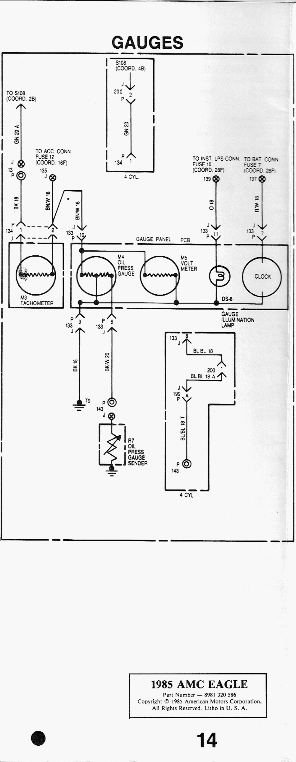 amc eagle wiper switch diagram   30 wiring diagram images